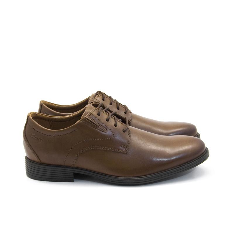 Αντρικό παπούτσι δετό Clarks Whiddon Plain 26152919