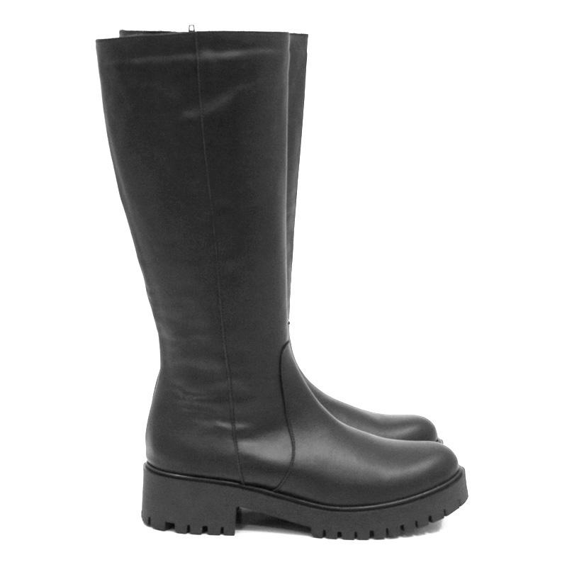 Γυναικεία μπότα YOKONO OSLO-002 ANTIK NEGRO